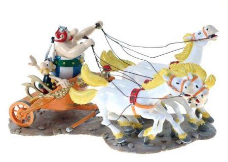 Astérix et Obélix et le char de la Transitalique