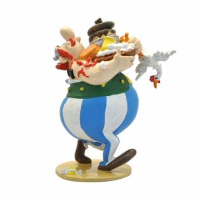 Obélix portant des aliments...