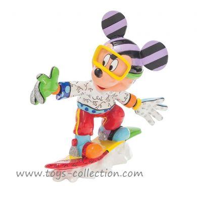 Mickey snowboarding Britto