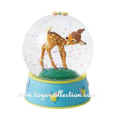Bambi dans la boule paillette