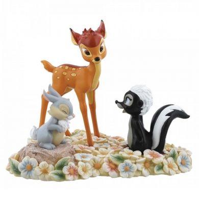 Bambi, Thumper & FlowerFigurine