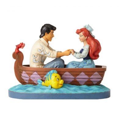 Ariel et le Prince Eric sur la barque