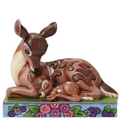 Bambi et sa mère