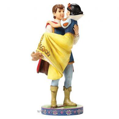 Blanche Neige dans les bras du Prince Charmant