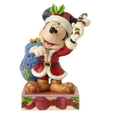 Mickey Merry Christmas avec sa hotte de Noël