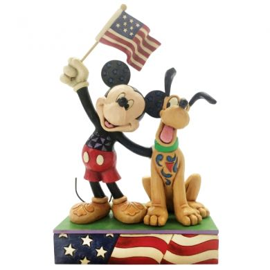 Mickey et Pluto patriotique