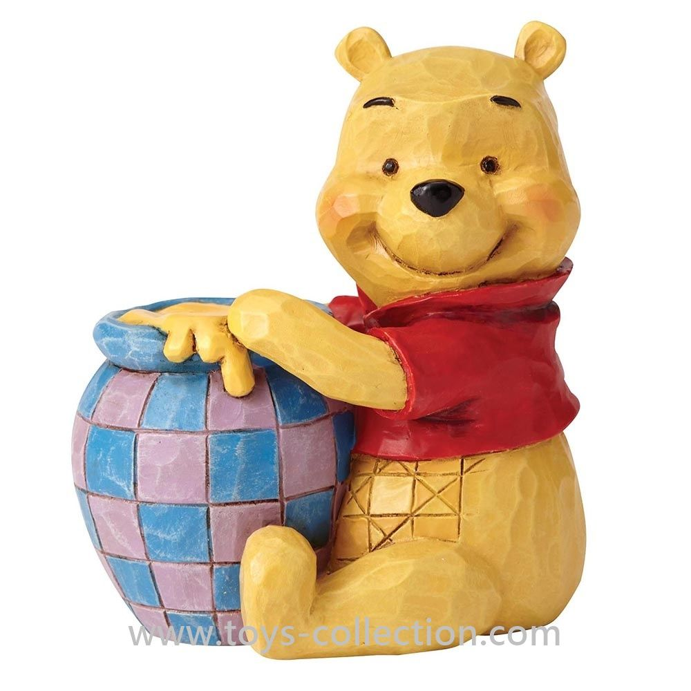 Winnie L Ourson Et Son Pot De Miel Figurine Disney Traditions Resine