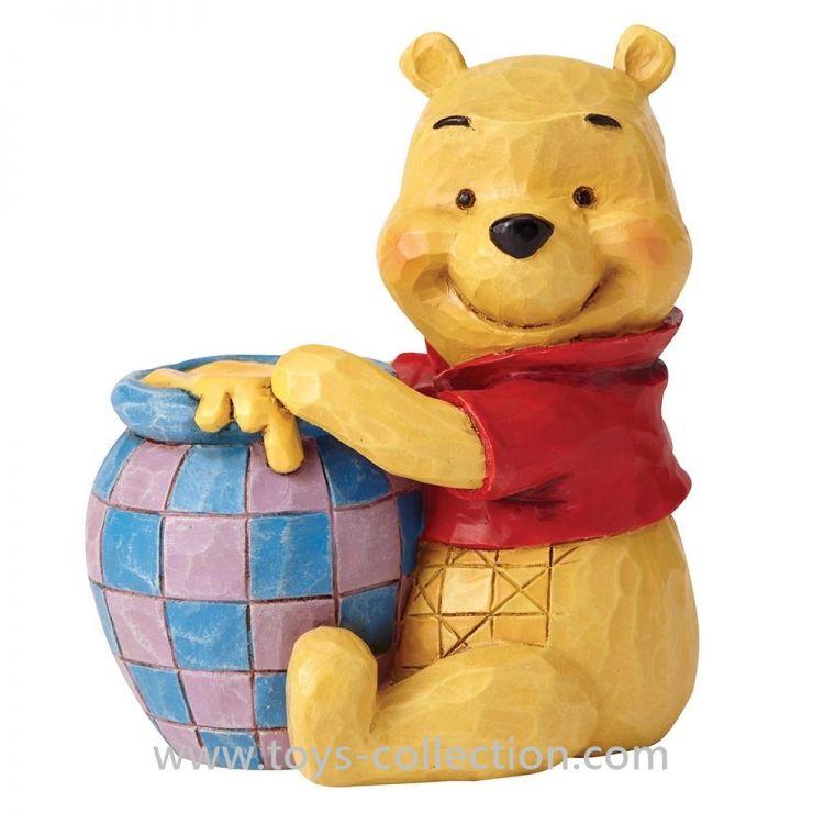 Winnie L Ourson Et Son Pot De Miel Figurine Disney Traditions Resine