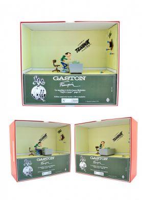 Gaston et la machine a écrire lance-fléchettes