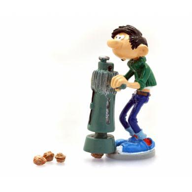 Gaston et le casse noix de chantier