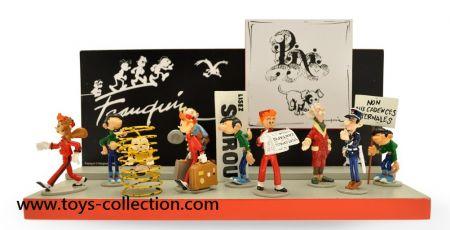 Présentoir pour la collection Origine Franquin