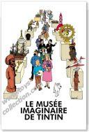 affiche-le-musee-imaginaire-de-tintin-moulinsart