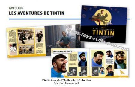 Artbook, les Aventures de Tintin