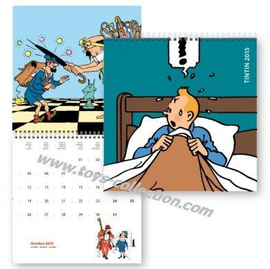 Calendrier Tintin 2015