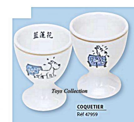 Coquetier Tintin