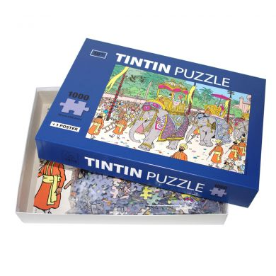 Puzzle Eléphant Altesse Tintin