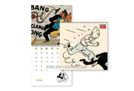 Calendrier Tintin 2017