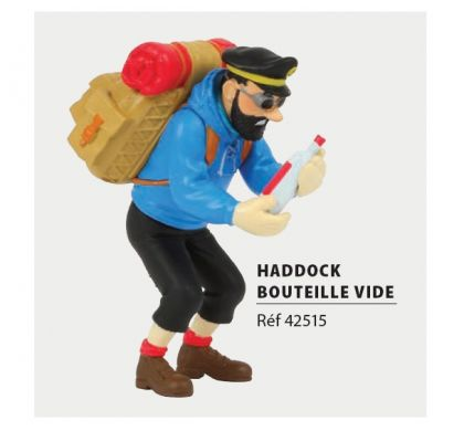 Haddock bouteille vide