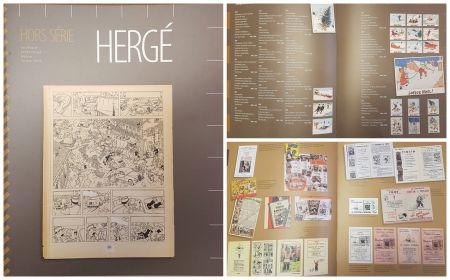 Hergé hors série catalogue de la vente Namur 2009