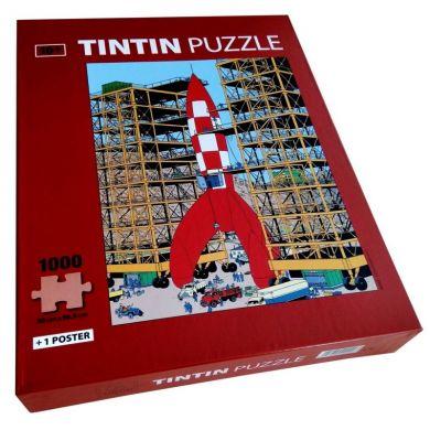 Puzzle Tintin Pret pour le décollage