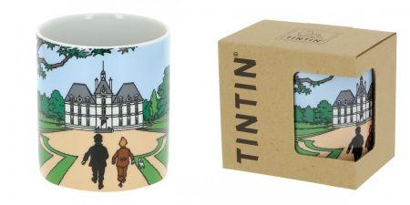 Mug Tintin et Haddock au château de Moulinsart