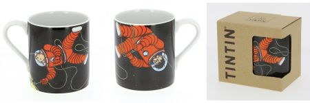 Mug Tintin et Haddock lune