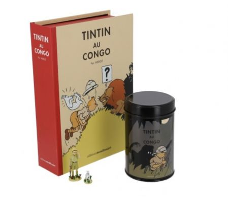 Pack Tintin au Congo - homme léopard