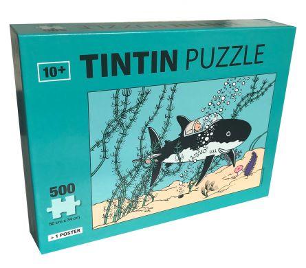 Puzzle Sous marin requin