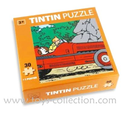 Puzzle Tintin Amilcar