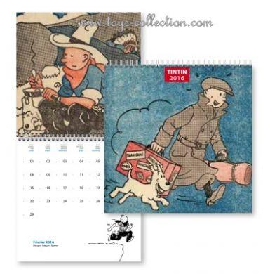 Calendrier Tintin 2016