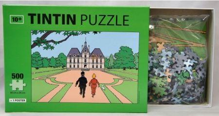 Puzzle Le château de Moulinsart
