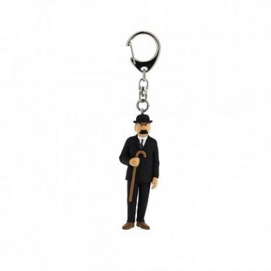 Porte-clé Dupond en noir