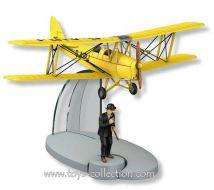 biplan-d-acrobaties-jaune-de-l-ile-noire-et-dupond