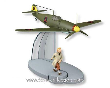 Chasseur Bordure BF-109 du Sceptre d'Ottokar et Tintin