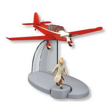 Avion des Faux-monnayeurs et Tintin