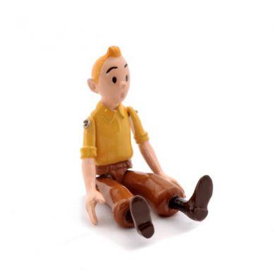 Tintin chemise jaune articulé