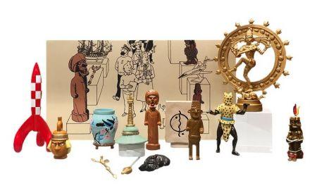 Coffret musée imaginaire de Tintin