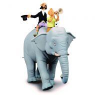 elephant-figurine-collection-fariboles-tintin-et-professeur-siclone