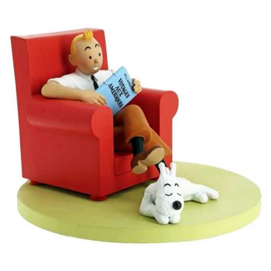 Tintin et Milou at Home