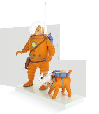 Tintin et Milou lune
