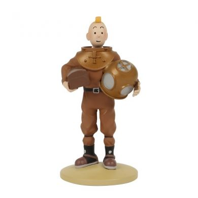Tintin scaphandrier