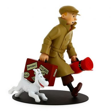 Tintin et Milou, ils arrivent