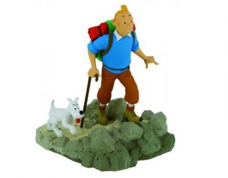 Tintin randonneur