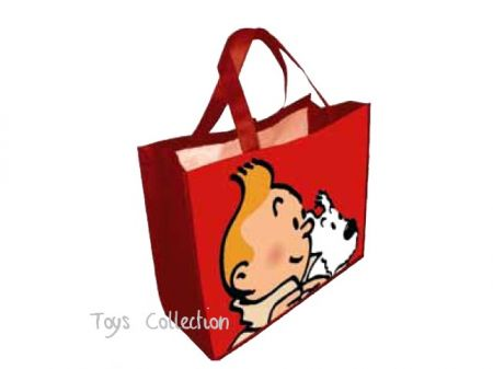 Sac de plage Tintin et Milou gm