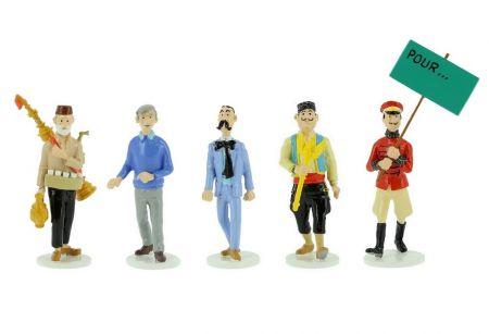 Tintin, Carte de vœux série complète n°10
