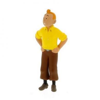 Porte-clé Tintin mains sur les hanches
