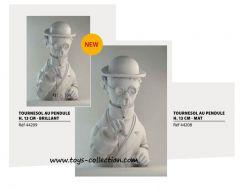 tournesol-buste-porcelaine-de-limoges-moulinsart