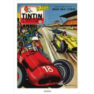 michel-vaillant-poster-j-graton-le-journal-tintin-1957-n22