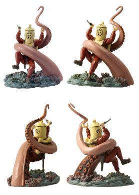 Olrik et la pieuvre géante