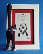cadre-photo-blanc-chat-le-troisieme-oeil-dubout